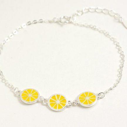 Rose Silver Bracelet