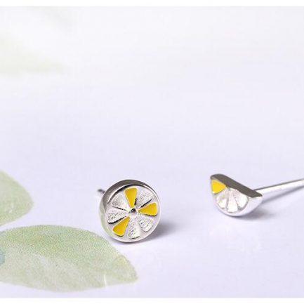 Iris Silver Earstuds