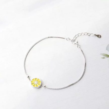 Poppy Silver Bracelet